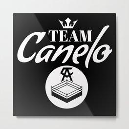 Cancelo Boxing Shirt Metal Print