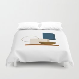 Abstrato 01 // Abstract Geometry Minimalist Illustration Duvet Cover