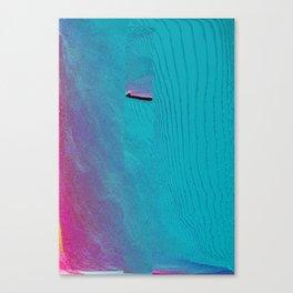 Staged Teleportation Canvas Print