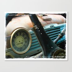 Dashboard Canvas Print
