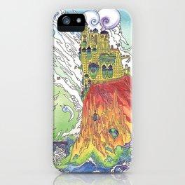 Cliff Castle iPhone Case
