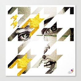Maze Hound Canvas Print