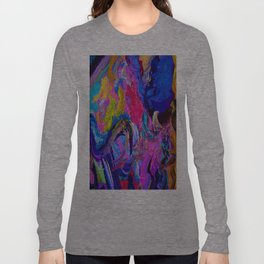 Abstract Viscosity Long Sleeve T-shirt