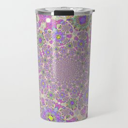 Pretty Lavender Garden Travel Mug