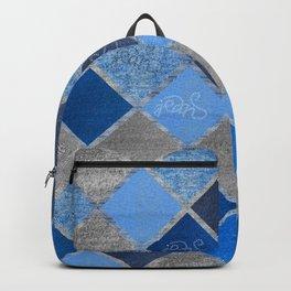 Denim Composition V4 Backpack