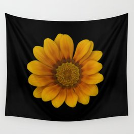 Yellow margarite Wall Tapestry