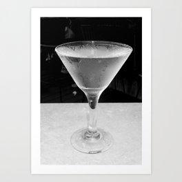Cold Vodka Art Print