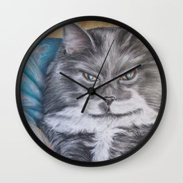 Cat: Babs Wall Clock