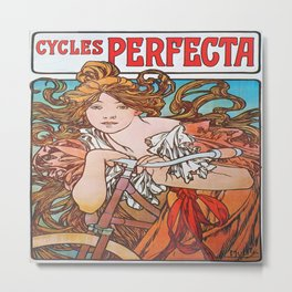Cycles Perfecta Metal Print