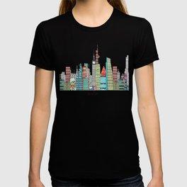 London city skyline  T-shirt