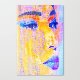 Asia Girl one Canvas Print