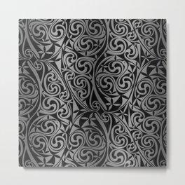 Celtic Warlord titanium Metal Print