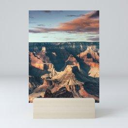 Grand Canyon national park in usa Mini Art Print