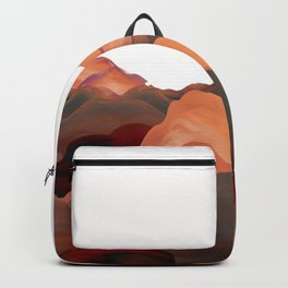 """""""Coral Mountains"""" Backpack"""