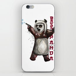 Bass Panda iPhone Skin