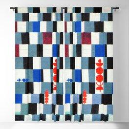 Paul Klee Super Chess Blackout Curtain