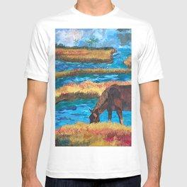 Horse Grazing T-shirt