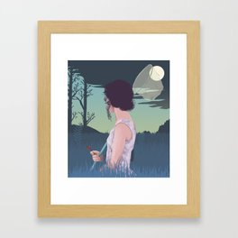 Dream finder Framed Art Print