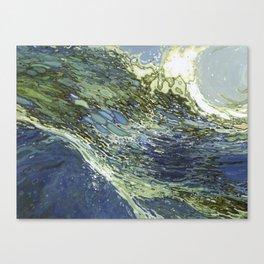 Ebb and Flow Ocean Waves Canvas Print