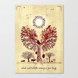 lung trees Canvas Print