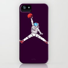 space dunk (purple ver.) iPhone (5, 5s) Slim Case