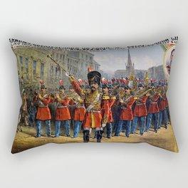 1879 P.T. Barnum's Great London Circus Vintage Advertisement Poster Rectangular Pillow