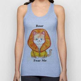 Roar Fear Me Unisex Tank Top