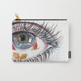 Koi Fish in Eye Carry-All Pouch