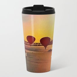 The Great Mississippi River Balloon Race Metal Travel Mug