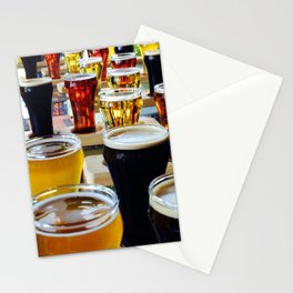 Craft Beers Stationery Cards
