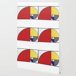 Mondrian vs Fibonacci Wallpaper