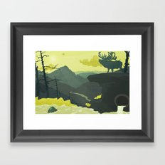 The Abandoned Frontier Framed Art Print
