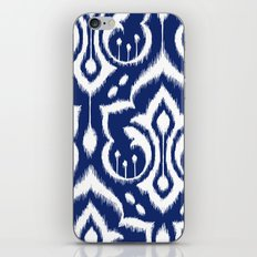 Ikat Damask Navy 2 iPhone & iPod Skin
