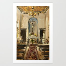 Private Chapel Art Print