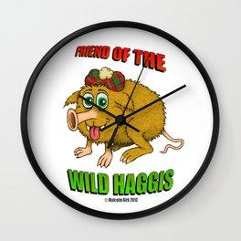 Friend of The Wild Haggis Wall Clock