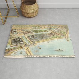 World Columbian Exposition in chicago 1893 Rug