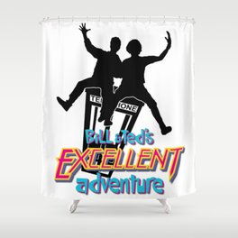 Excellent Dudes! Shower Curtain