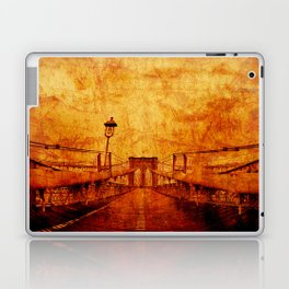 Brooklyn Burning Laptop & iPad Skin