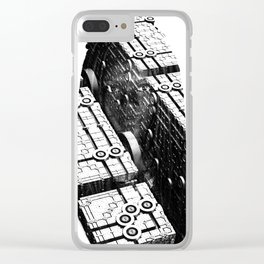 Inner Workings Clear iPhone Case