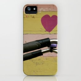 bicycle in Amsterdam iPhone Case