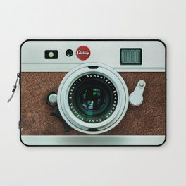 Retro vintage leather camera Laptop Sleeve
