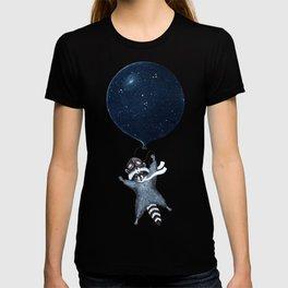 Raccoon Balloon T-shirt