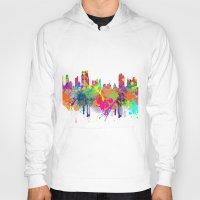 new york Hoodies featuring NEW YORK, NEW YORK by mark ashkenazi