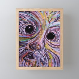 Schnauzer Framed Mini Art Print