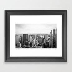 South of Manhattan - New York Framed Art Print