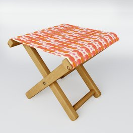 Uende Sixties - Geometric and bold retro shapes Folding Stool