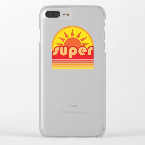 super duper Clear iPhone Case