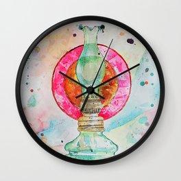 Lamp Of Life Wall Clock
