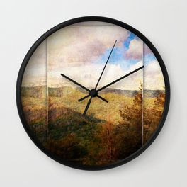 Great Smoky Mountain Dreams Wall Clock