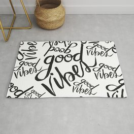 Good Vibes Pattern Rug
